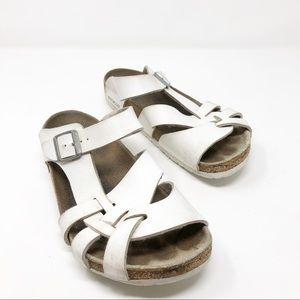 Birkenstock Women's White Sandals 39/8